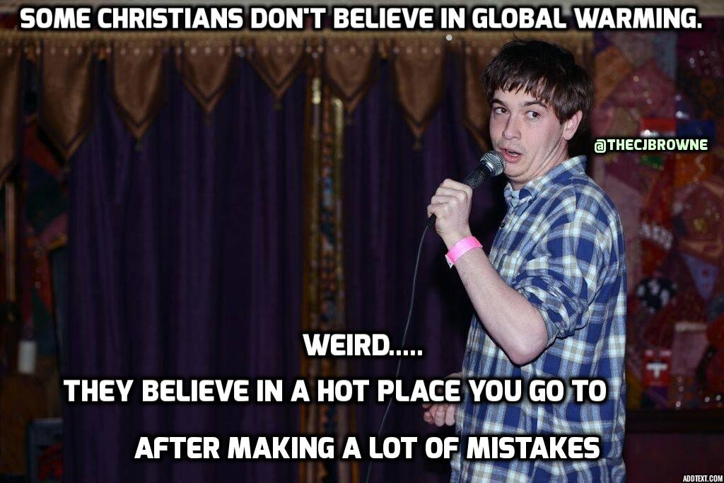 Global Warming vs. Christians