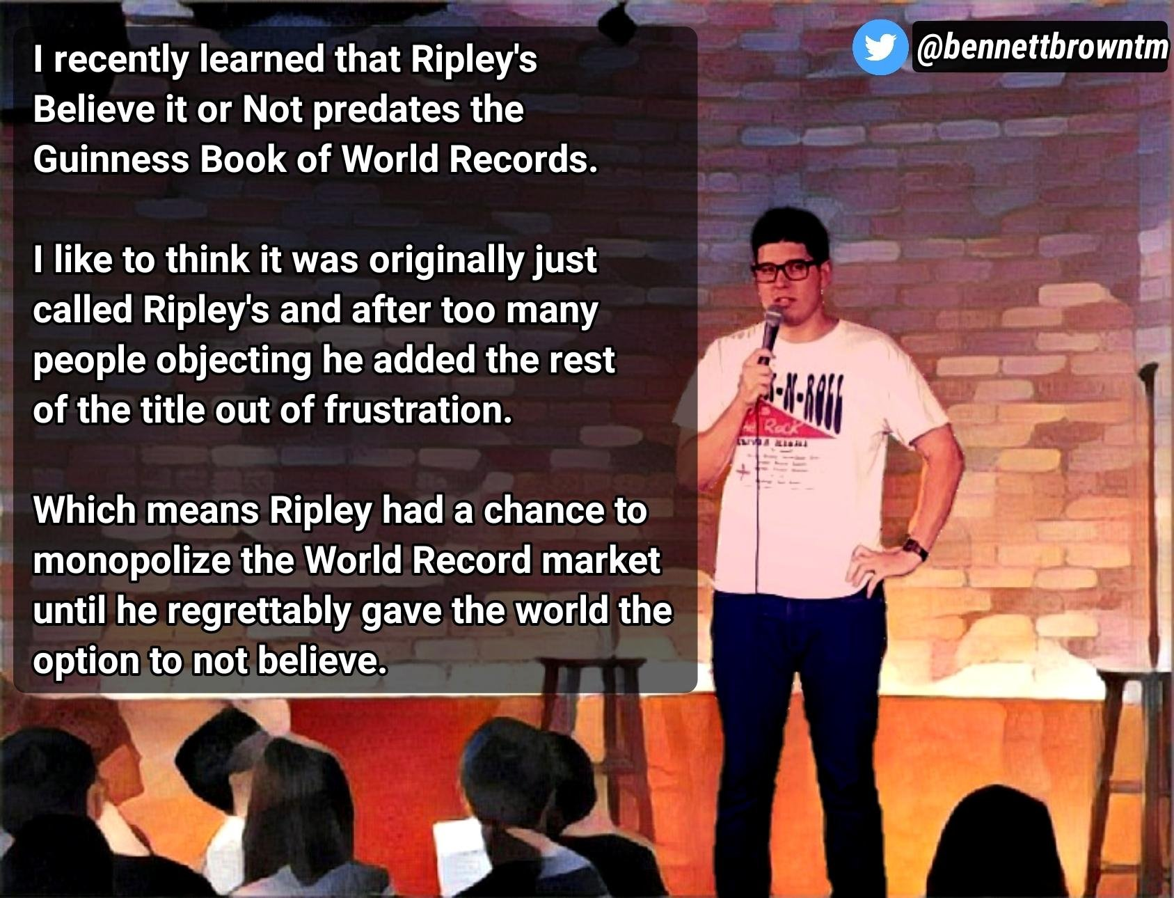 Do[n't] Stop Believing