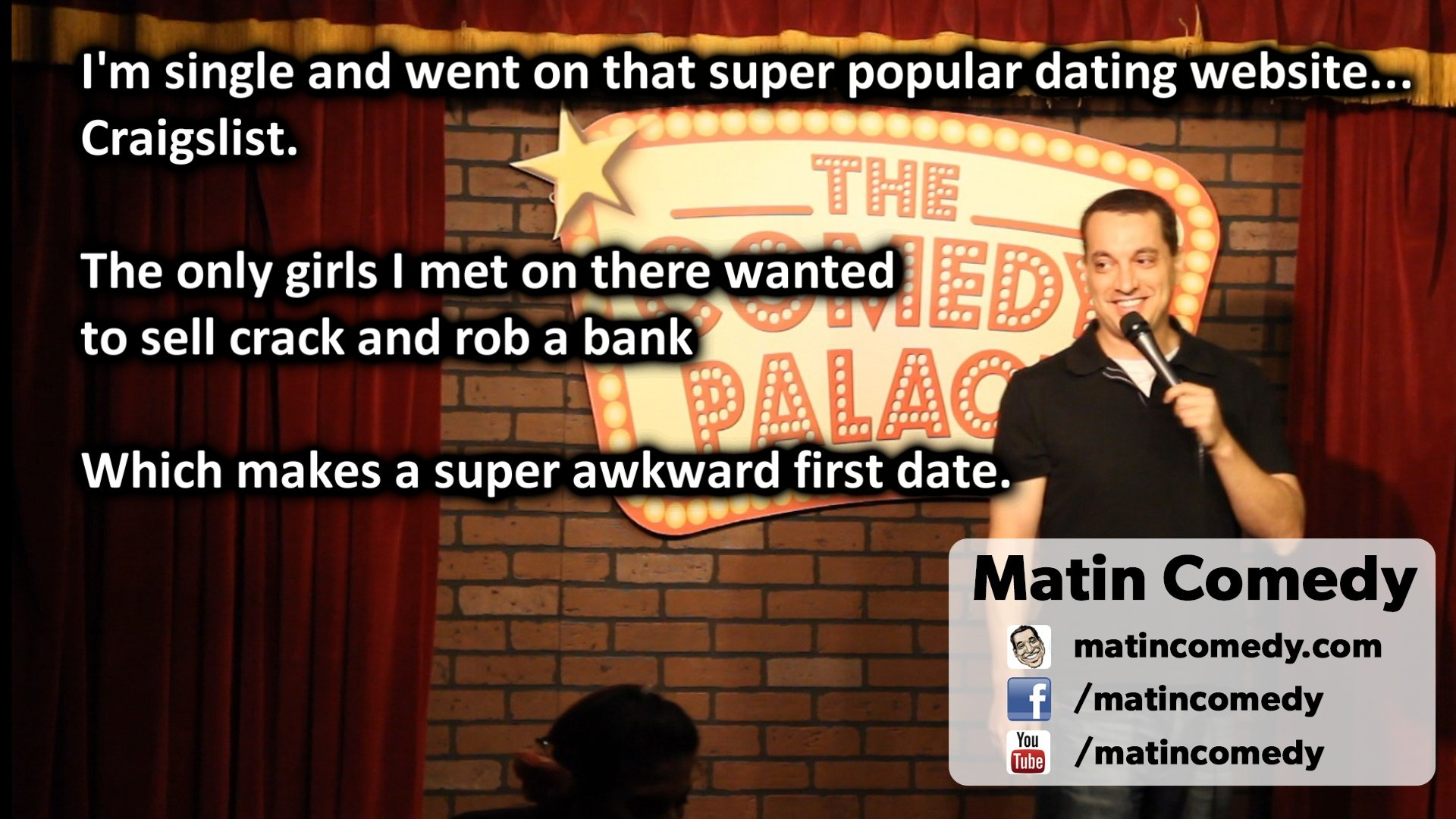 I'm single and went on that super popular dating website…