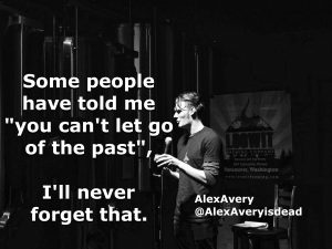 It's in the past