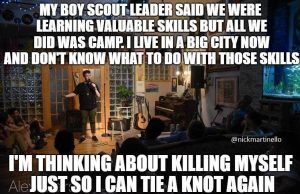 boy scouts was a waste of time